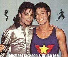 Bruce Lee&michael jackson