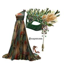 """Masquerade - Design a Mask Contest"" by easy-dressing ❤ liked on Polyvore featuring art"