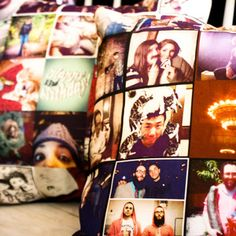 Stitchtagram  Instagram Your Pillows    Stitchtagram is the brainchild of Rachel and Doug Pfeffer, two particularly creative siblings. This ingenious company lets you make Instagram photos into plush, super-cool pillows. Just choose your images—from cute to artistic—and with these custom vouchers, Stitchtagram prints your very own graphic throw pillow!