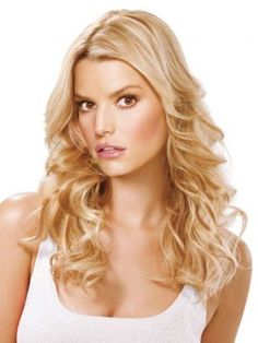 "Jessica Simpson Ken Paves 16"" Fineline Synthetic Hair Extensions Hairdo"