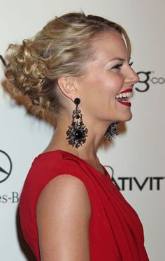 Jennifer Morrisons gorgeous, updo hairstyle