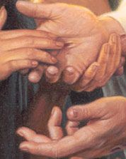 He cannot forget us; we are engraven upon the palms of his hands.