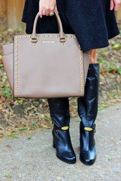 Michael Kors Boots and Bag
