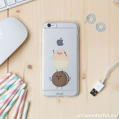 Carcasa transparente para Iphone 6 – Madalena - Mr. Wonderful