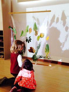 light in reggio emilia Preschool Science, Preschool Classroom, Teaching Kindergarten, Reggio Emilia Classroom, Reggio Emilia Preschool, Diy Pour Enfants, Reggio Emilia Approach, Grande Section, Shadow Play