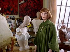 """The Big Lebowski"" movie still, 1998.  Julianne Moore as Maude Lebowski."