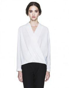 Benetton Semi-open blouse