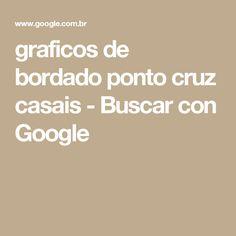 graficos de bordado ponto cruz casais - Buscar con Google