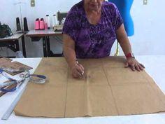 Curso Confecção de Calças Femininas - Modelagem da Base de Calça - Cursos CPT - YouTube Sewing Hacks, Base, Youtube, Chiffon, Lifestyle, Shorts, Fashion, Dress Template, Sewing Tutorials