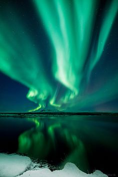 Aurora Borealis - Thingvellir National Park, Iceland