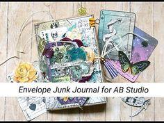 "Junk Journal ""Forgotten Place"" for AB Studio - Flip Through (MakaArt) Journal Covers, Art Journal Pages, Art Journaling, Junk Journal, Shaker Cards, Artist Trading Cards, Scrapbook Paper, Scrapbooking, Hello Everyone"
