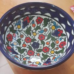 Fantastic Photographs Ceramics bowls decoration Style Armenian handcrafted ceramic bowl for serving or decoration. Flowers m – Bluenoemi Jewelry Ceramic Bowls, Ceramic Art, Throwing Clay, Pottery Courses, Pottery Store, Pottery Tools, Jewish Gifts, Art Courses, Handmade Art