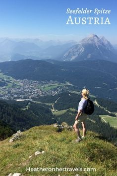 Read about our hiking holiday in Austria and climbing Seefelder Spitze