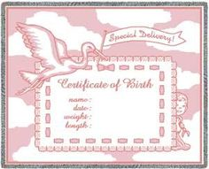 baby death certificate template - free printable baby welcoming certificate prayers
