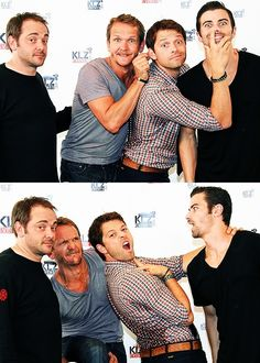 Yup that's how a normal cast is :/ I love how Crowley doesn't change his expression at all.
