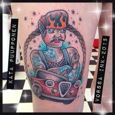 https://www.facebook.com/VorssaInk/, http://tattoosbykata.blogspot.com, #tattoo #tatuointi #katapuupponen #vorssaink #forssa #finland #traditionaltattoo #suomi #oldschool #pinup #male
