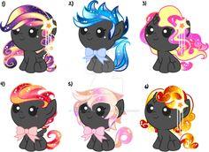 Gatcha Surprise Foal Ponies VII by YukiAdoptablesPonies on DeviantArt