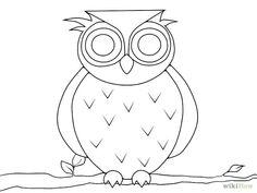 Eine Eule zeichnen – wikiHow