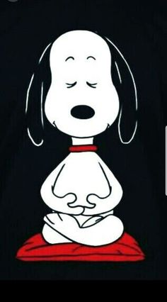 I am one with snoopy Ohm Peanuts Cartoon, Peanuts Snoopy, Peanuts Characters, Cartoon Characters, Yoga Meditation, Ps Wallpaper, Unique Wallpaper, Wallpaper Quotes, Snoopy Quotes