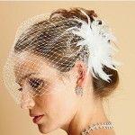 beautiful bridal Wedding Fascinator