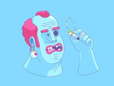 Smoking by Chris Phillips - Dribbble