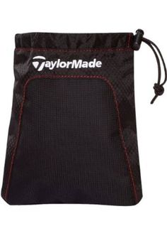 TaylorMade Performance Valuables Pouch, Black