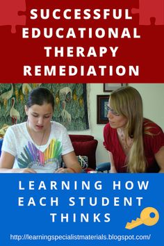 This is what a good educational therapist does...  Come read about the most important way to help students optimize their potential.