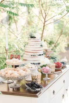 Delicious sweets table | Britani Edwards Photography | see more at…