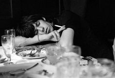 Keith Richards photographed by Terry O'Neill, 1964 | the rolling stones | iconic | dinner and cigarettes | resting |