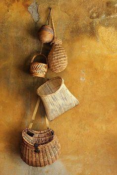 handmade baskets | home decor + storage ideas                                                                                                                                                                                 More