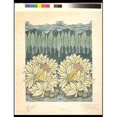 Design for a textile or a wallpaper   Voysey, Charles Francis Annesley   V Search the Collections