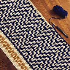 """A while ago I stumbled over the fantastic patterns of Maliha Design. I instantly bought her fantastic Walk in Woods pattern. The pictures were great and I was really looking forward to crochet this… The """"One Step Beyond"""" Blanket – Free Pattern Inside Crochet Diy, Tunisian Crochet, Crochet Crafts, Crochet Projects, Diy Crafts, Motifs Afghans, Crochet Stitches Patterns, Afghan Crochet Patterns, Knitting Patterns"""