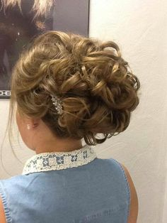 Formal hairstyle I did