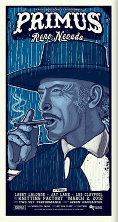 GigPosters.com - Primus - Larry Lalonde - Jay Lane - Les Claypool