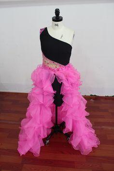 Custom made Prom Dress, with a detachable skirt.