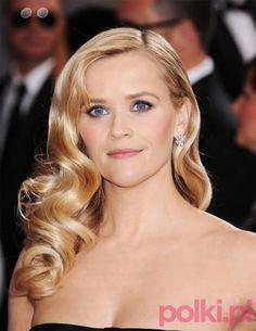 Oscary 2013 - Reese Witherspoon, Oscary 2013 - makijaże i fryzury gwiazd
