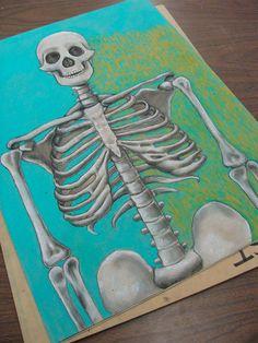 skeleton w.i.p.   by jodie hurt