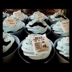 Newsboy theme Cupcakes