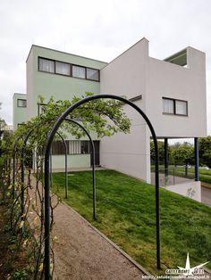 """Stuttgart - Cité de la Weissenhof - Maison """"Citrohan"""" et maison double ou maison…"""