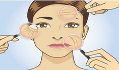 Reduced wrinkles and more elastic skin will make you look years younger thanks to this homemade eye cream. Homemade Face Cleanser, Homemade Eye Cream, Rides Front, Les Rides, Face Facial, Facial Serum, Expresso, Younger Looking Skin, Younger Skin