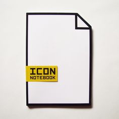 Icon Notebook by BrigadaCreativa on Etsy, €7.95