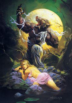 Werewolf, por Ken Kelly ### Don't mess with a werewolf's girlfriend.