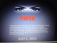 http://www.amazon.com/Viper-Vampire-Assassin-Delizhia-Jenkins-ebook/dp/B00XK1B18G/ref=sr_1_1?ie=UTF8&qid=1433263620&sr=8-1&keywords=Viper+by+Delizhia+Jenkins