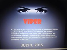 http://www.amazon.com/Viper-Vampire-Assassin-Delizhia-Jenkins-ebook/dp/B00XK1B18G/ref=sr_1_1?ie=UTF8&qid=1433263620&sr=8-1&keywords=Viper+by+Delizhia+Jenkins