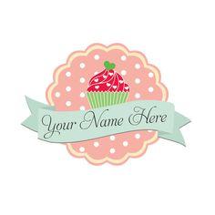 Cupcake Bakery Logo & Watermark Design by ArrowCreativeDesign