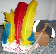 Simple Indian Headband Craft — Kid Crafts Magazine