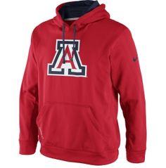 32d553197459 Nike Men s Arizona Wildcats Red KO Performance Hoodie - Dick s Sporting  Goods University Of Arizona