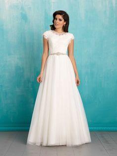 10 Gorgeous Modest Wedding Dresses | LDS Living