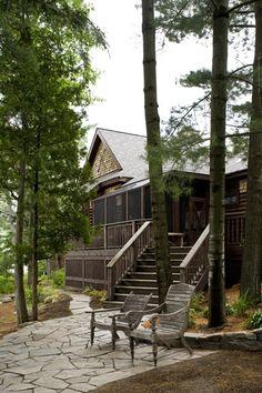 Cottage entrance House & Home