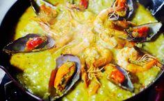 Paella Valenciana de Frutos do Mar